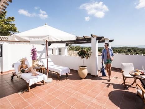 Suite con terraza privada.