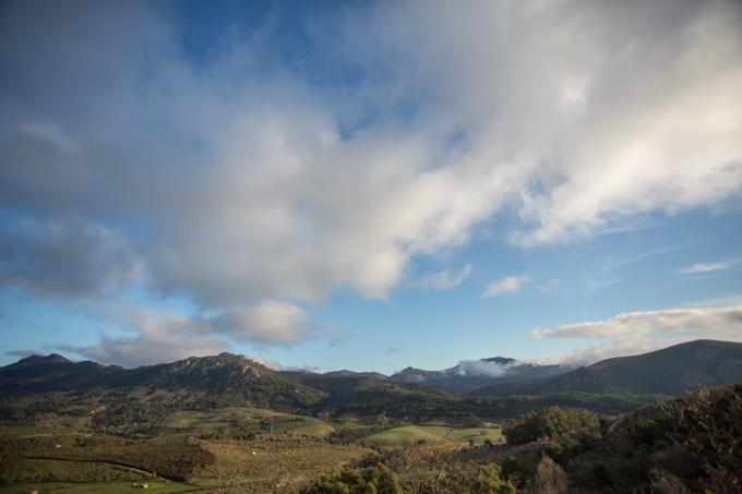 Desde las cabañas, estas son las vista del Geoparque.