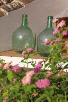 Típicas decoración de las fincas y casas con encanto en Baleares.