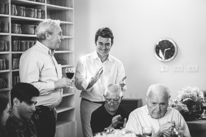Amador, el inversor, y los Fagliano.