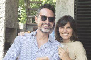 Con María Anchorena.