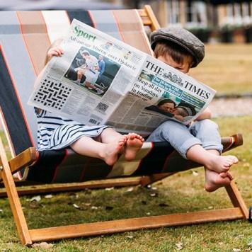 El hotel es un sitio ideal para leer. Foto: The Oakley Court.