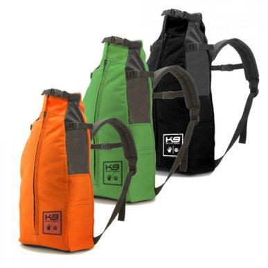 Los tres colores del K9 sport sack.