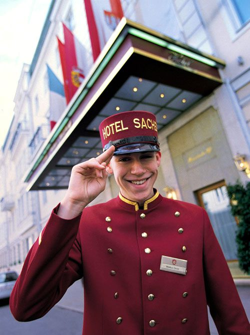 Bellboy del Sacher.