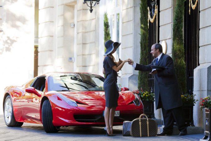 Clienta dog friendly en el Hotel Ritz Madrid Mandarin Oriental, adoro este hotel.