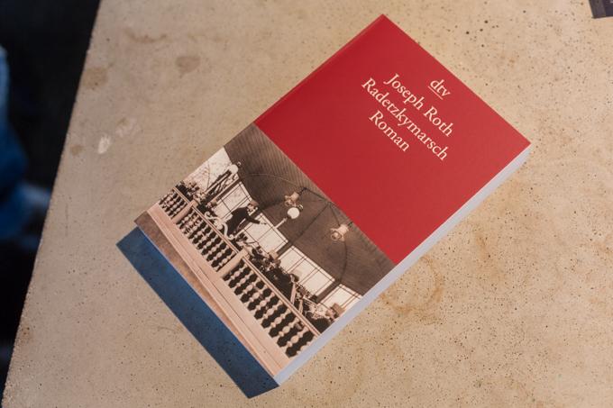 'La marcha Radetzky' de Joseph Roth, en la librería Haymon.