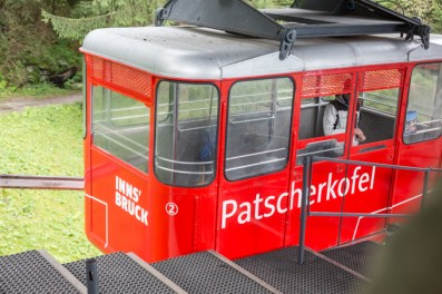 Teleférico Patscherkofelbahn.
