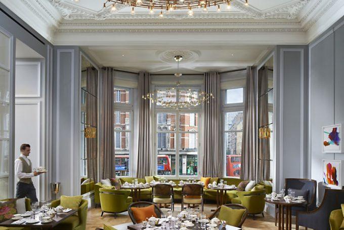 The Rosebery Lounge, donde se sirve el Afternoon Tea y los cocktails.