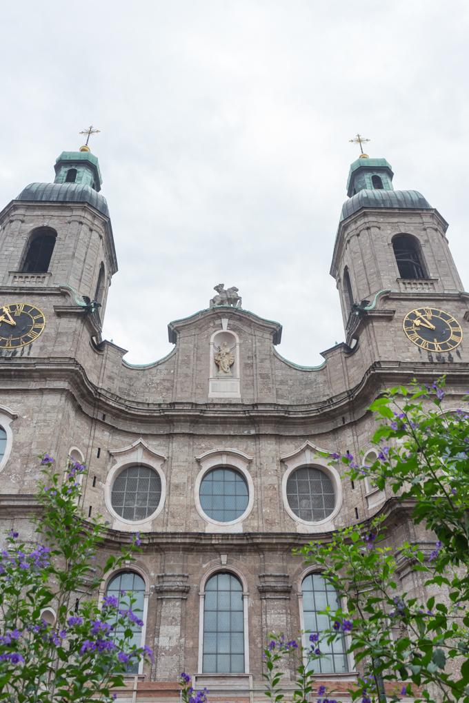 Catedral de Innsbruck.