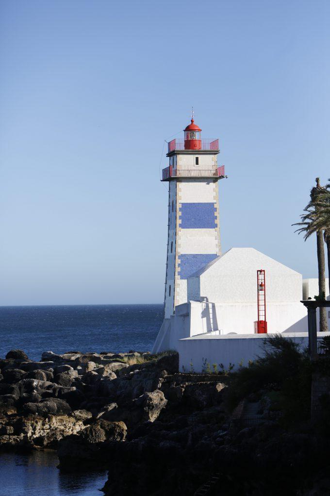 Faro Santa Marta en Cascais, el más bonito de todos.