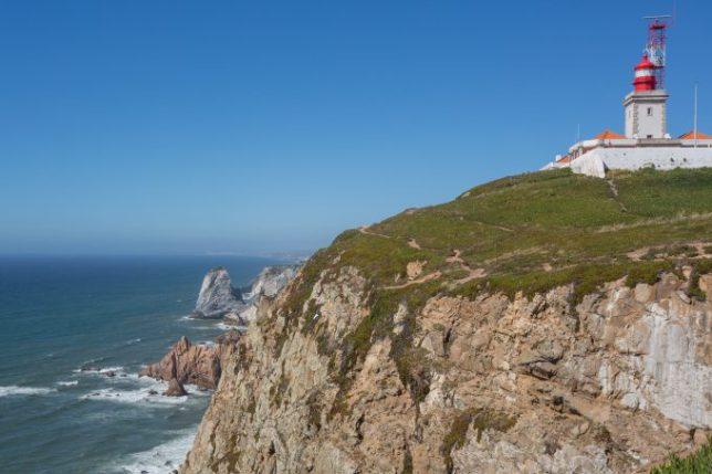 Vista del Cabo da Roca.