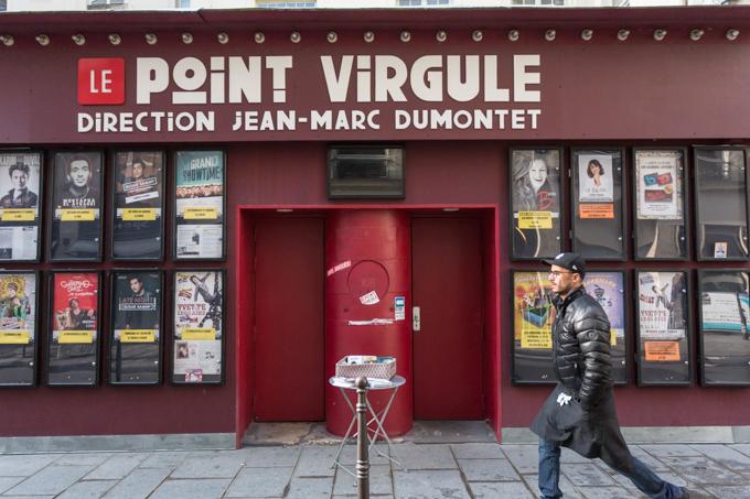 Le Point Virgule, el teatro del humor, está a pocos metros del hotel (7 Rue Sainte-Croix de la Bretonnerie).