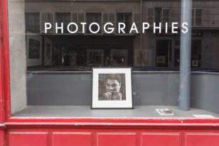 Galería de arte en París.