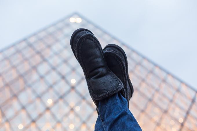 Las botas Mou son muy abrigadas, ideales para las noches frías.