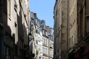 Típica calle de Le Marais.
