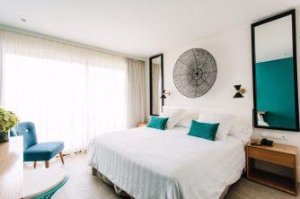 El Hotel Almirante, el secreto mejor guardado de la Costa Blanca, asignará dos habitaciones dobles standard con desayuno (como la de la foto). DONATIVO: 100 € c/hab.