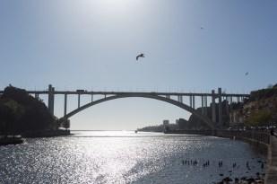 Oporto y Gaia unidas por puentes como el de Luis.