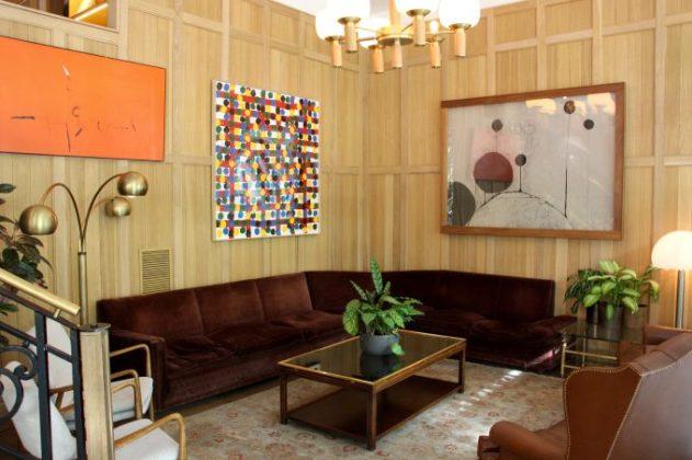 Lobby del NH Collection Suecia.
