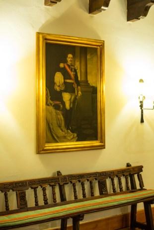 Alfonso XIII inauguró el Parador en 1910.