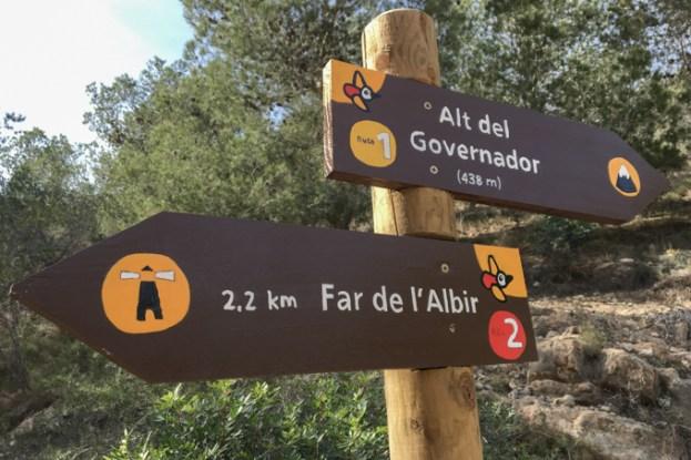 Ruta del Faro del Albir.