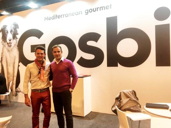 Con Isaac Parés, CEO de GOSBI.