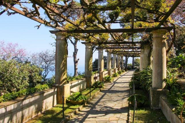 Galería del jardín de San Michelle.