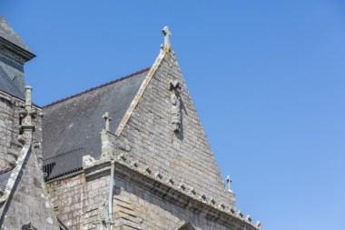 Capilla Nuestra Señora La Blanca, en 1381 aquí firmaron el rey de Francia y el duque de Bretaña el tratado de paz.