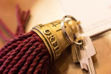 Nuestras llaves de la Deluxe Suite (número 41).