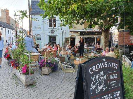 The Crows Nest In The Square