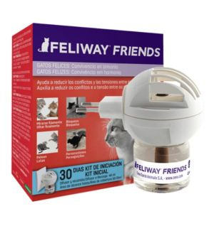 Feliway Friends Difusor+Recarga 48ml