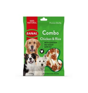 Sanal Combo Chicken & Rice 100g
