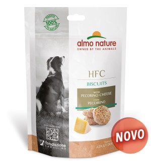 Almo Dog Nature Hfc Biscuits – Queijo Pecorino 54 Gr