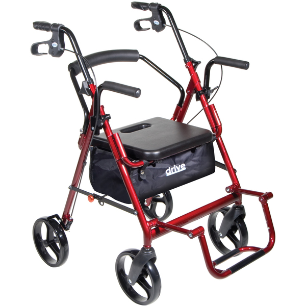 Duet-Transport-Wheelchair-Rollator-Walker pic 2