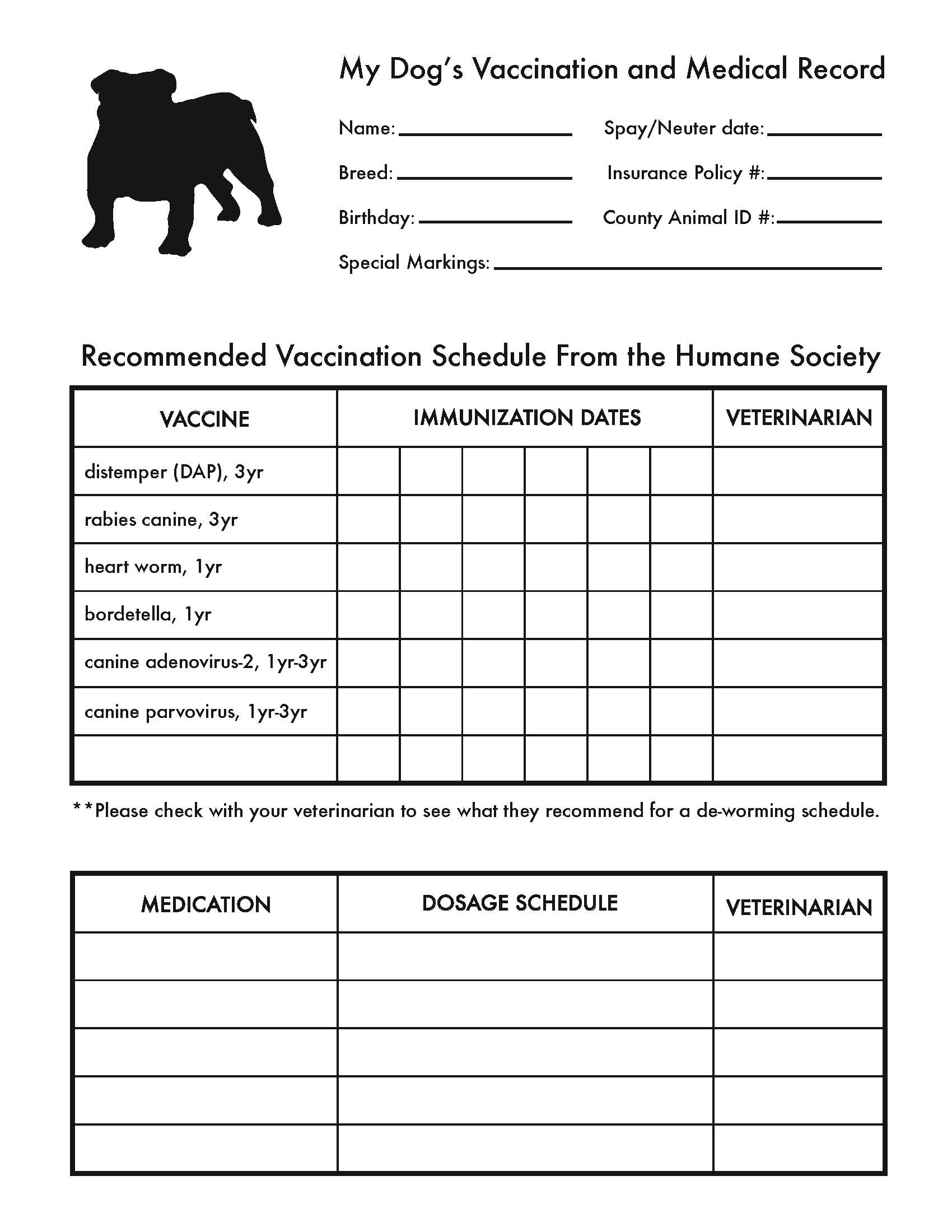 Are Your Pet S Medical Records Organized