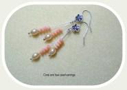 coralearrings