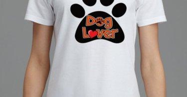 Dog lover women T shirt