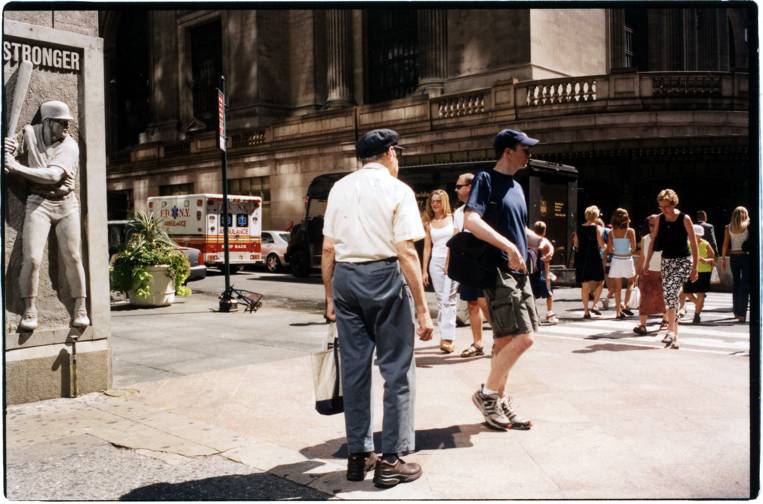 pause in the midst. from the Grand Central Station series