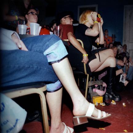 Audience at the Shim Sham Club N.O.LA.
