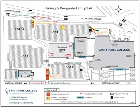 womens-march-st-paul-college-map