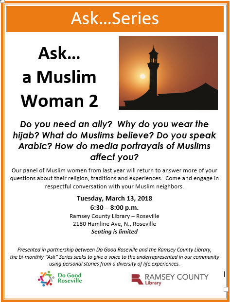 Ask a Muslim Woman 2 Flyer picture