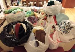 Fabric donations