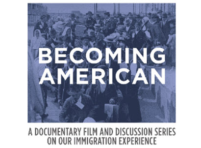 becoming american logo