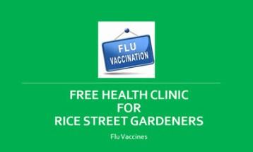 Flu clinic picture