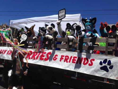 Quentin Coyote's float pic