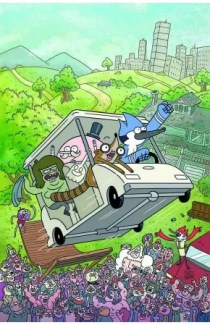 Regular show comic