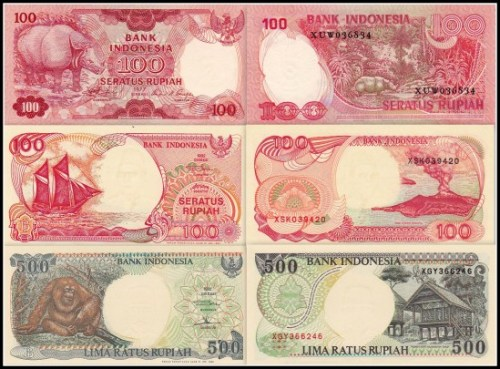 indonesia rupiahs