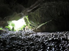 Exit of the underground river