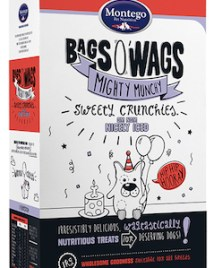 Montego Bags O' Wags Crunchies Nicely Iced