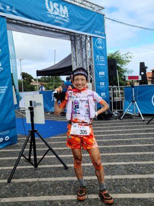 23kmのSantana SkyRaceで女子優勝の吉住友里 YOSHIZUMI Yuri。Photo by 吉住友里