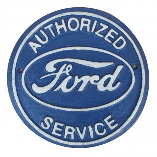 Cast Iron Ford Sign